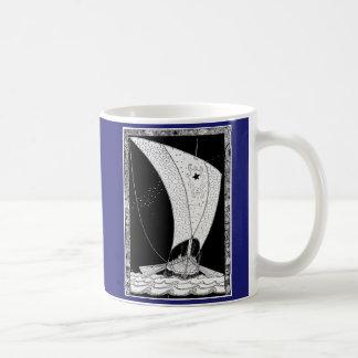 Viking Longship segelbåt Kaffemugg