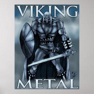 Viking metall poster