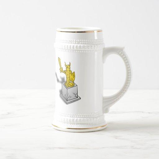 Viking monument kaffe kopp
