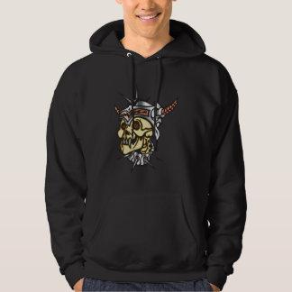 Viking skalle hoodie