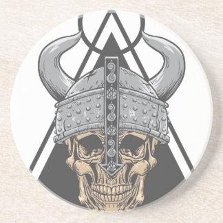 Viking skalle underlägg sandsten
