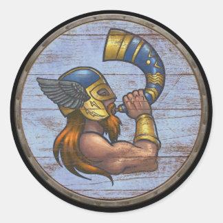 Viking skyddar klistermärken - Heimdallr