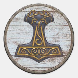 Viking skyddar klistermärken - Mjolnir