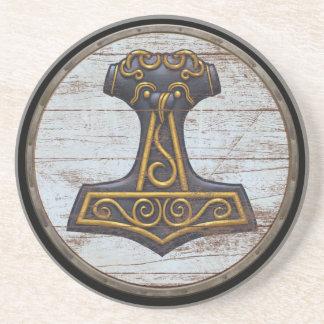Viking skyddar - Mjolnir Underlägg Sandsten
