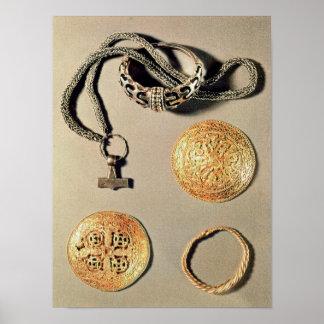 Viking smycken TtoB LtoR Poster