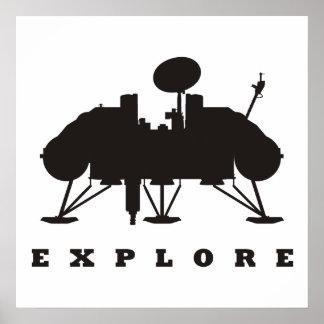 Viking/undersöker Poster