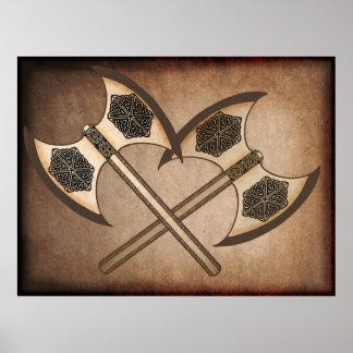 Viking yxa poster