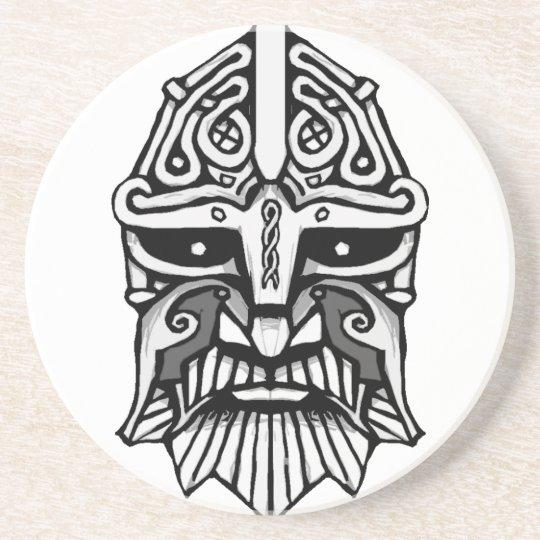 Vikinga huvud underlägg sandsten