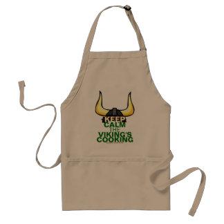 Vikings matlagning förkläde