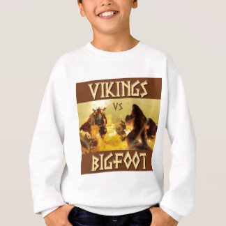 VIKINGS vs. BIGFOOT - rolig fantasi Mashup T-shirts