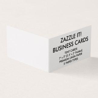 Vikta visitkortar för anpassningsbarpersonlig bok visitkort