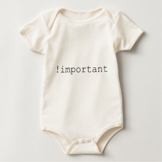 Viktig förklaring för CSS Body För Baby