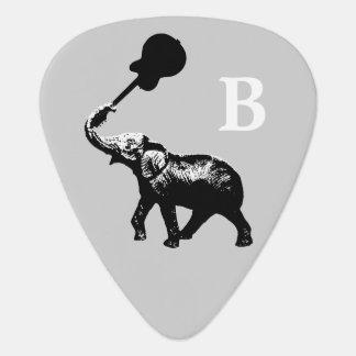 vild & coola, svart elefantanpassningsbar plektrum