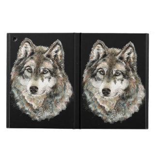 Vild för varger för natur för grå varg för vattenf fodral för iPad air