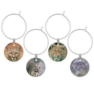 Vild katt lodjur, puma, Manul Vinglasmarkör