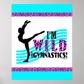 Vild om gymnastik poster