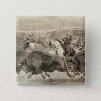 """""""Vilda western på den underbara amerikanen Standard Kanpp Fyrkantig 5.1 Cm"""