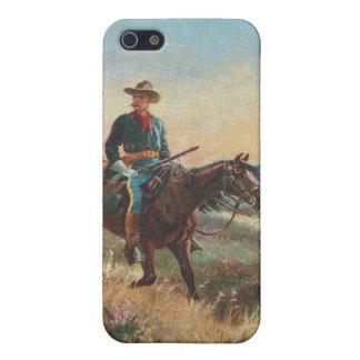 Vilda westernvintageCowboy iPhone 5 Skydd