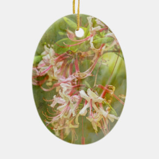 VildAzaleablommar = Springtime Julgransprydnad Keramik