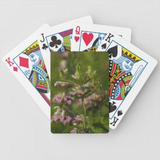 Vildblomma Spelkort