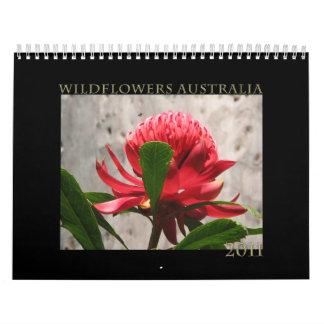 Vildblommar av Australien Kalender