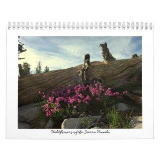 Vildblommar av Sierran Nevada Kalender