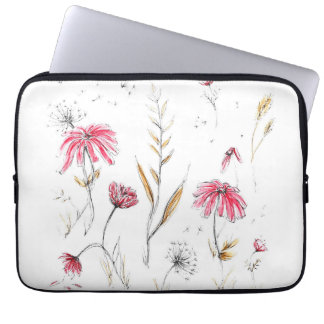 Vildblommar Laptop Sleeve