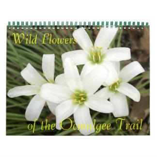 Vildblommor, av den Ocmulgee slingan Kalender