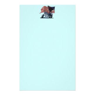 Vilden & frigör - den patriotiska örnen, brevpapper