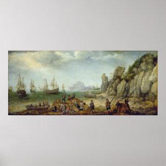 Vildgetjakt på kusten, 1620 poster