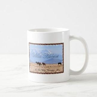 Vildhästar - den San Luis dalen, Colorado - kopp