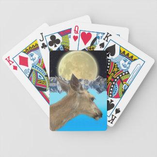 Vildhjortdjurliv för Utomhus--älskare Spelkort