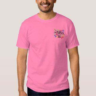 Vildkatt Broderad T-shirt