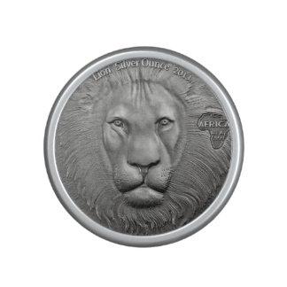 VILDSAKER: Afrikanskt lejont Myntar-Bumpster Högtalare