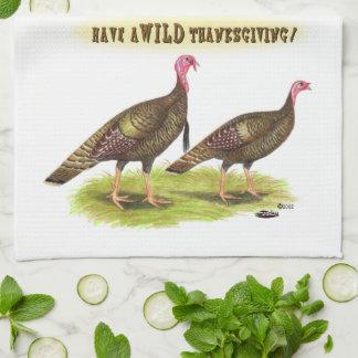 VildTurkiet thanksgiving Kökshandduk