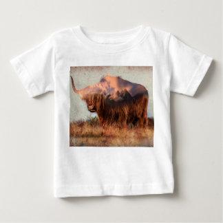 Vildyak - Yak nepal - dubbel exponeringskonst - Tee Shirt
