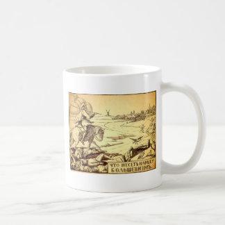 Vilken bolshevism kommer med till landet kaffemugg