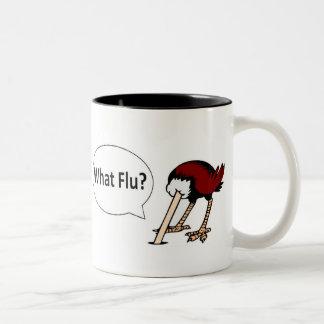 Vilken influensa? Två-Tonad mugg