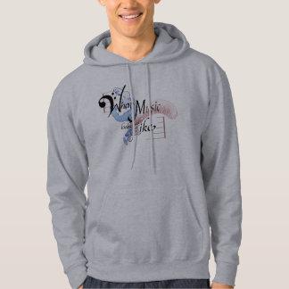 Vilken musik ser lik hoodie