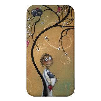 Vilkendera vinden blåser långt iphone case iPhone 4 hud