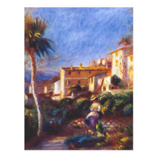 Villade-la postar på cagnes Pierre-Auguste Renoir Vykort