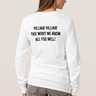 villain! t shirts
