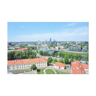 Vilnius Litauen Canvastryck