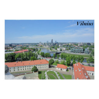 Vilnius Litauen Poster