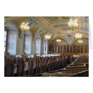 Vilnius universitetenbibliotek - LITAUEN Hälsningskort