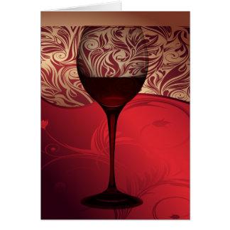 Vin card8 hälsningskort