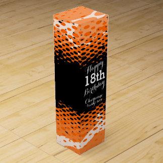 Vin för flickaktigten för den 18th födelsedagen förpackningar för vinflaskor