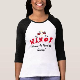 Vin för Sanity! Svart/rött T Shirts