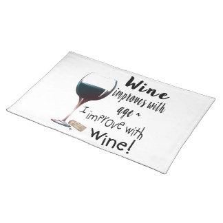 Vin förbättrar med ålder som jag förbättrar med bordstablett