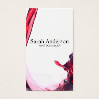 Vin häller | stänk II Visitkort